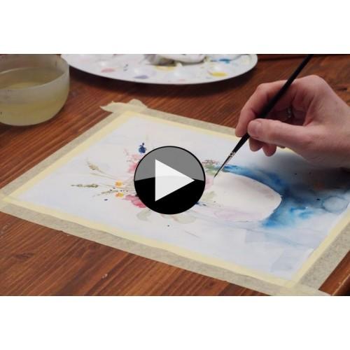 Pojďme spolu malovat - ONLINE VIDEOKURZ (AKVAREL)