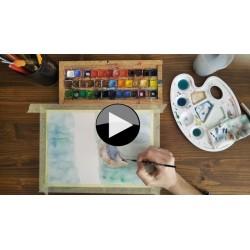 Pojďme spolu malovat 2- ONLINE VIDEOKURZ (AKVAREL)