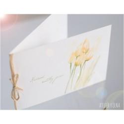 Velikonoční přání *Zahrada s tulipány*