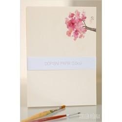Dopisní papír & monogram *Ve vůni jara* (10ks)