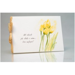 Přání *Zahrada s tulipány*